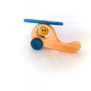 Drevené hračky: Vrtuľník