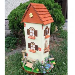 Dekorácie: Záhradný domček