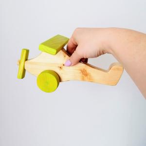 Drevené hračky: Lietadielko