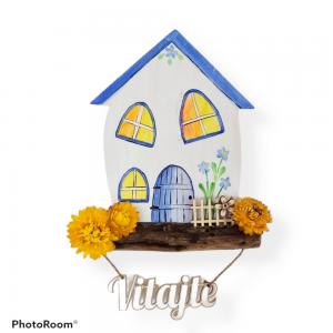 Tabuľky: Modrý domček