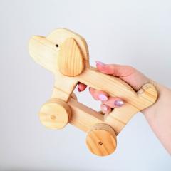 Drevené hračky: Psík