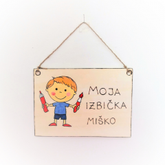 Tabuľky na dvere: Miško